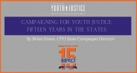 Campaigning for Youth Justice: Fifteen Years in the States