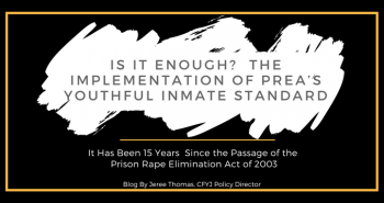 Is it Enough?  The Implementation of PREA's Youthful Inmate Standard