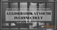 New BJS Report: A Closer Look at Youth in Connecticut