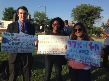 JOY Campaign and Allies Raise Awareness on the Criminalization of DC Youth