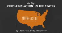 2019 Legislation on Youth Prosecuted As Adults in the States