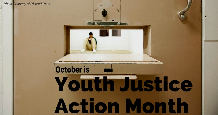 October is Youth Justice Awareness Month!
