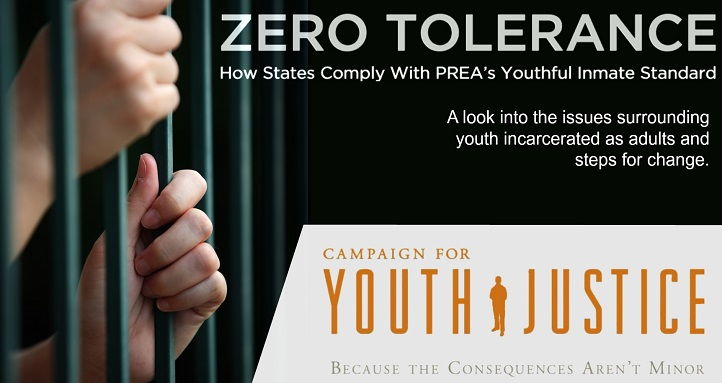 NEW REPORT: Explores How States House Youth Under 18 in Prisons in the New Age of PREA Compliance and Enforcement