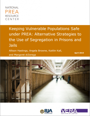 NEW REPORT: Keeping Vulnerable Populations Safe under PREA